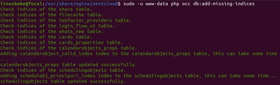 Install NextCloud on Ubuntu 20.04 using Nginx (LEMP Stack)