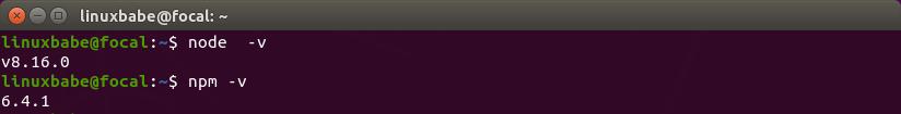 mailtrain nodejs ubuntu 20.04