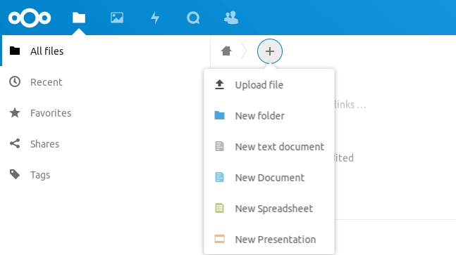 nextcloud online office