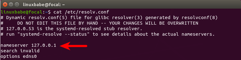 resolvconf set default dns resolver Ubuntu 20.04