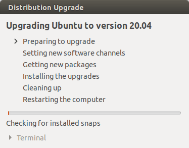 upgrade ubuntu to version 20.04