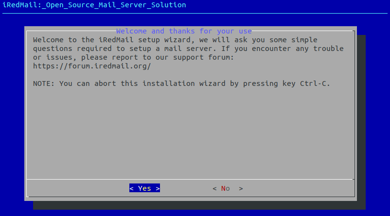 centos-8-iredmail-server