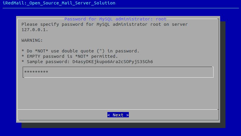 centos 8 mail server