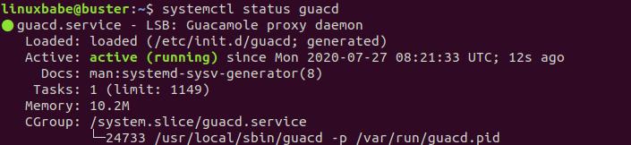 Guacamole-proxy-daemon-debian-10