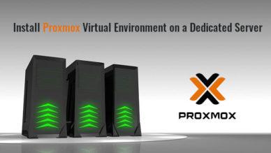 Install Proxmox Virtual Environment