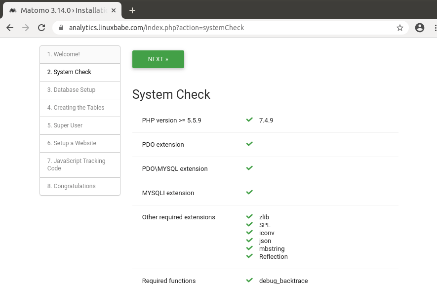 matomo-ubuntu-20.04-php-extensions