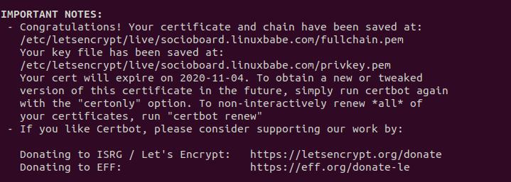 socioboard https ubuntu 20.04