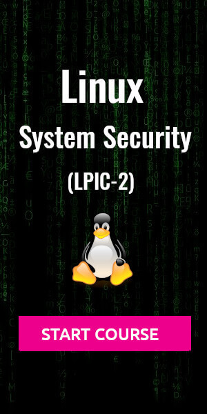 linux system security course lpic-2 pluralsight