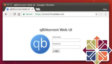 qbittorrent-remote-webui-centos8-rhel8