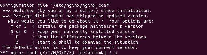 Install the Latest Version of Nginx on Debian Ubuntu