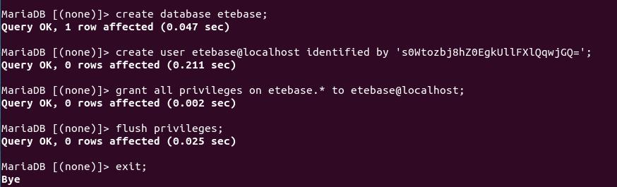 etebase mariadb ubuntu
