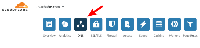 Create DNS Records at Cloudflare