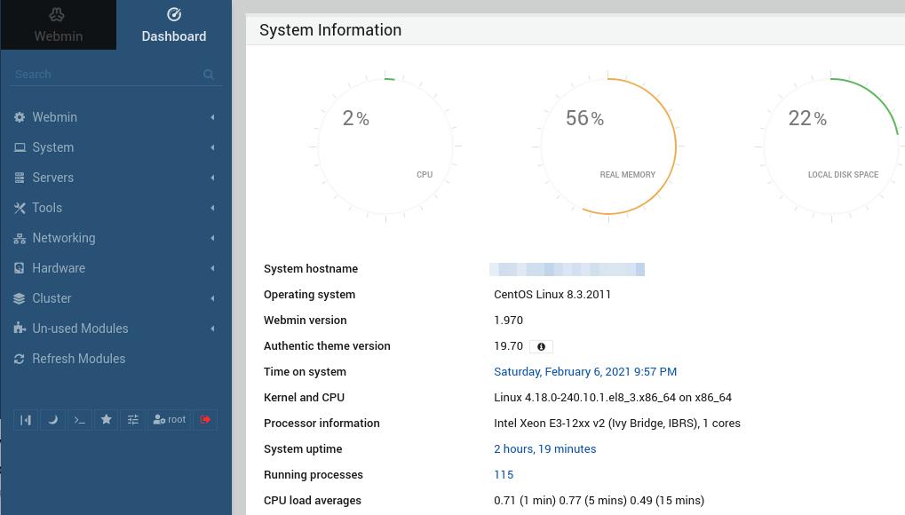 How to Install Webmin on CentOS 8 RHEL 8 Server