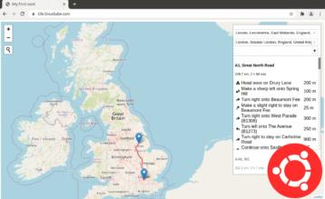 Install OSRM on Ubuntu 20.04 - open source routing machine