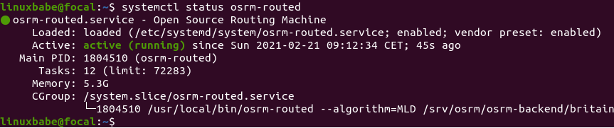 osrm-routed systemd service ubuntu 20.04