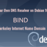 set up your own dns resolver on Debian 10 buster