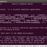gnome terminal is a terminal emulation application