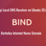 Set Up Local DNS Resolver on Ubuntu 20.04 with BIND9