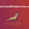 Install MariaDB 10.1 on Ubuntu14.04 and 16.04
