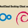 installing nextcloud desktop client on Debian 9